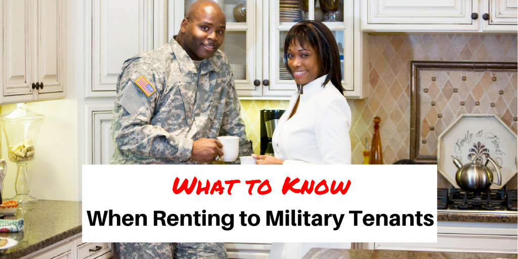 What to Know When Renting to Military Tenants