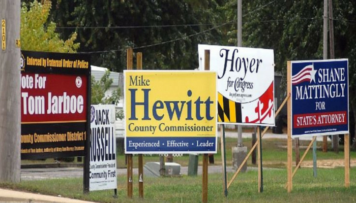 Copy Of Political Yard Signs