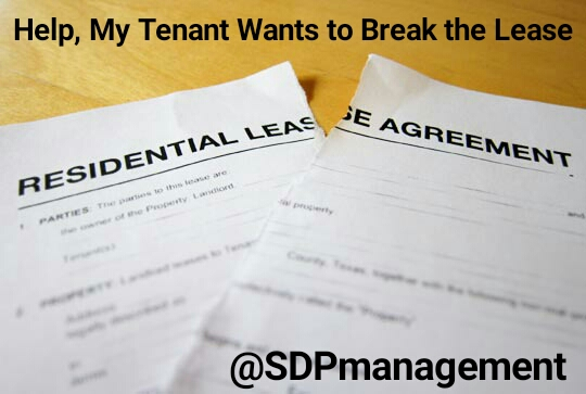 San Diego Premier Property Management Break Lease