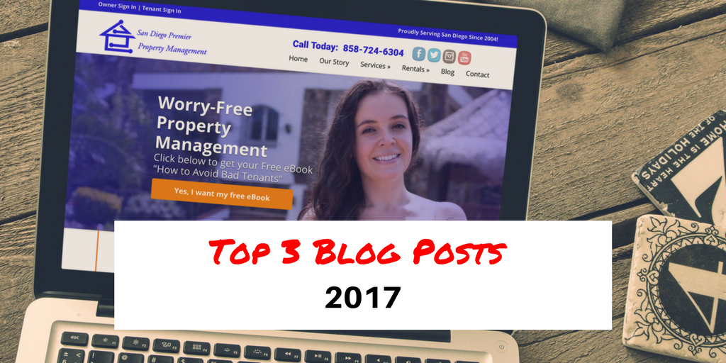 Top 3 Blog Posts Of 2017