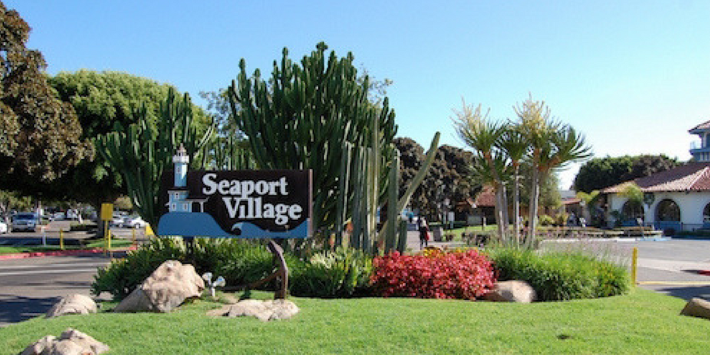 Seaport Village, San Diego.