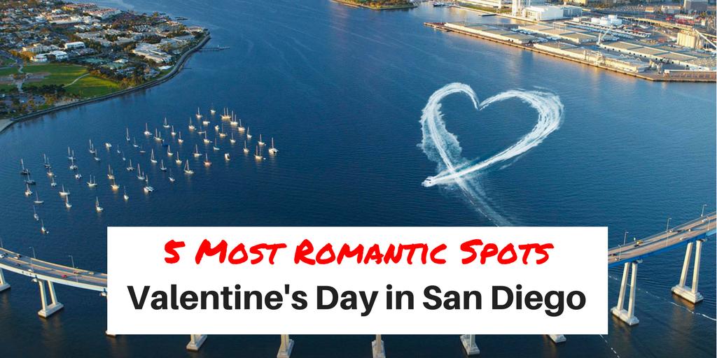 Valentine's Day in San Diego, CA.